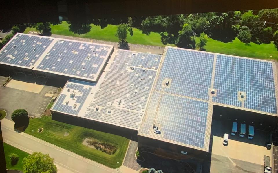 ComEd Presents Rainy Solar Inc. with Rebate Check of $299,840